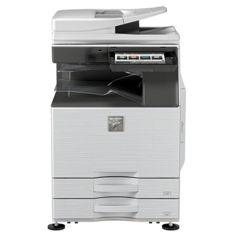 how to use sharp photocopy machine
